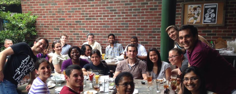 Garcia lab breaking bread